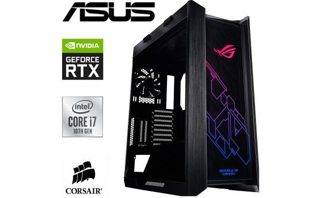 INTEL CORE i7 10700K // RTX 3060 TUF // 16GB RAM - ASUS HELIOS BUILD