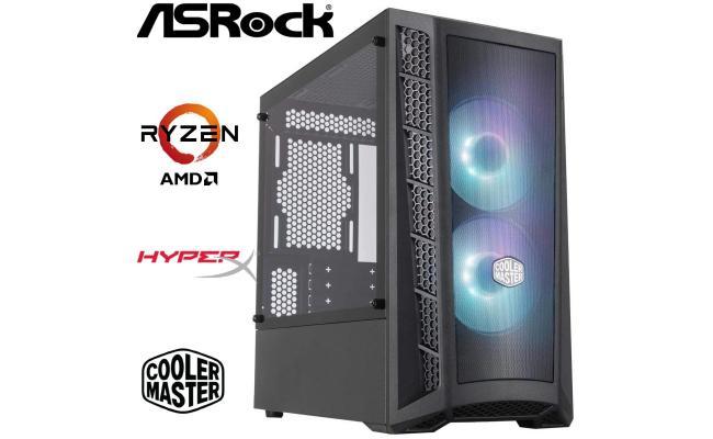 AMD RYZEN 3 2200G // VEGA 8 INTEGRATED GRAPHICS // 8GB RAM - Light Gaming Build