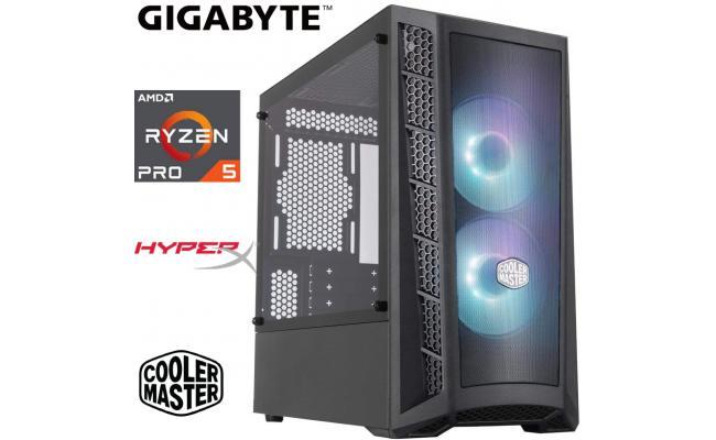 AMD RYZEN 5 PRO 4650G // VEGA 7 INTEGRATED GRAPHICS // 16GB RAM  - Light Gaming Build