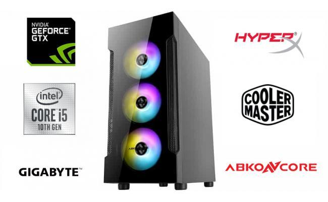 INTEL CORE I5 10400F // GTX1650 // 8GB RAM - Gaming Build