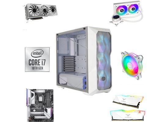 INTEL CORE i7 10700K // RTX 3060 VISION // 16GB RAM - White Gaming Build