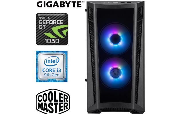 INTEL CORE I3 9100F // GT 1030 // 8GB RAM - Gaming Build