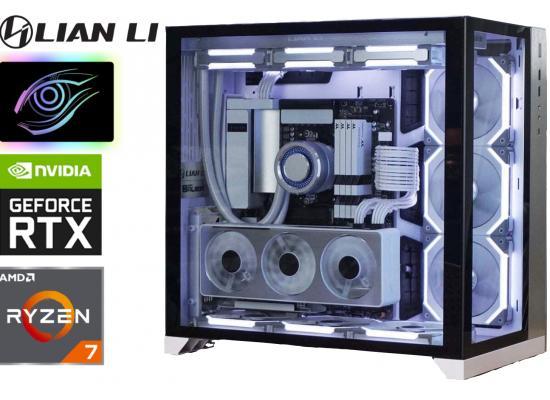 AMD RYZEN 7 5800X // RTX 3070 TI // 32GB RAM - Lian Li White Build