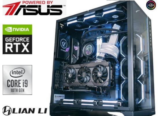 INTEL CORE i9 10900F // RTX 3080 Ti // 32GB RAM - Lian Li Build