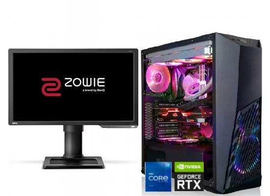 INTEL CORE i7 11700F // RTX 2060 // 16GB RAM + BenQ ZOWIE144Hz Gaming Monitor - Gaming Build