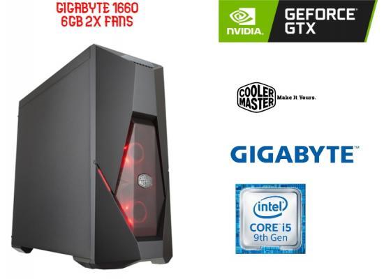 OS GAMING INTEL CORE I5 9400F , GigaByte GTX 1660 6GB Dual OC  2x Fans
