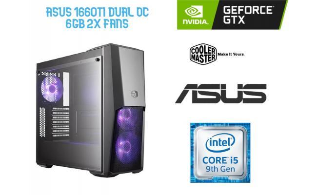 OS GAMING INTEL CORE I5 9400F , ASUS GTX 1660TI  6GB Dual OC  2x Fans