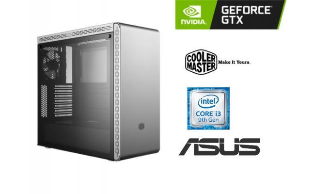 OS GAMING Intel® Core™ i3-9100f , Asus GTX 1650 PH
