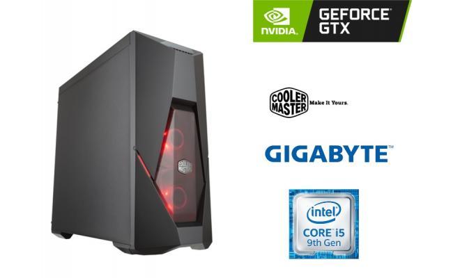 OS GAMING INTEL CORE I5 9400F , GigaByte GTX 1650 Dual OC