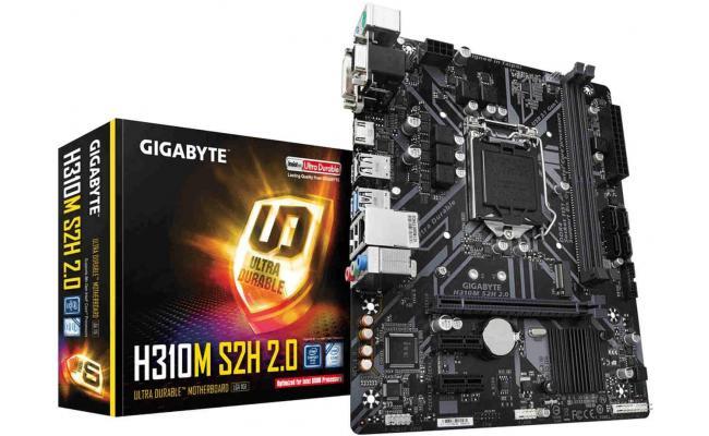 GIGABYTE H310M S2H 2.0 MicroATX Motherboard