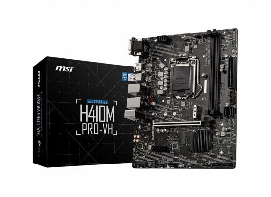 MSI H410M PRO-VH Intel® H410 (LGA 1200) MATX Motherboard