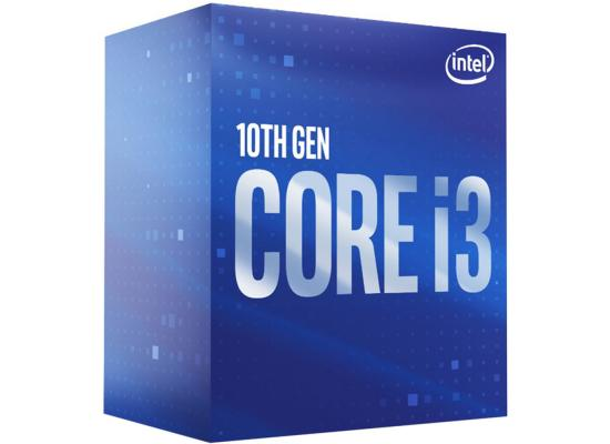 Intel® Core™ i3-10100F Processor 4-Cores up to 4.3 GHz