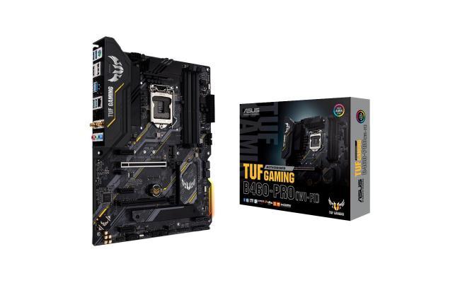 ASUS TUF GAMING B460-PRO (WI-FI) ATX gaming motherboard