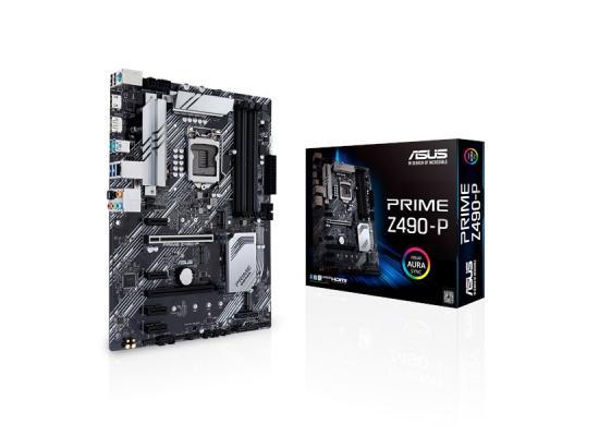 ASUS Prime Z490-P LGA 1200 ATX Motherboard