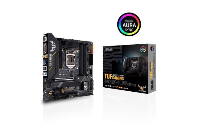 ASUS TUF GAMING B460M-PLUS (WI-FI) - Intel® B460 (LGA 1200) micro ATX gaming motherboard with dual M.2