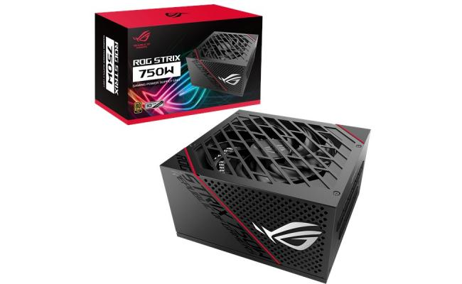 ASUS ROG Strix 750W  80+ Gold Power Supply, Fully modular cables