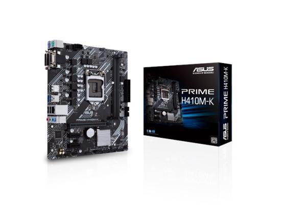 ASUS PRIME H410M-K Intel® H410 (LGA 1200) mic-ATX motherboard with DDR4 support
