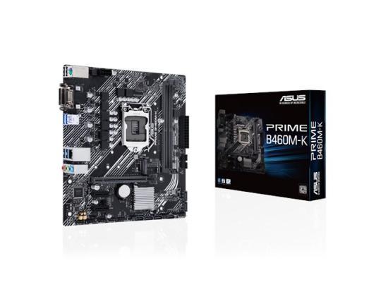ASUS PRIME B460M-K Intel® B460 (LGA 1200) mATX motherboard with DDR4 2933MHz