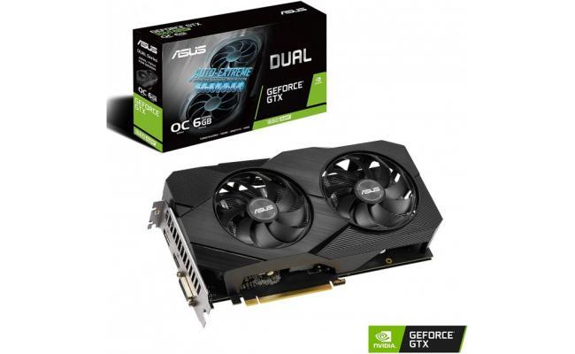 ASUS Dual GeForce® GTX 1660 SUPER™ OC Edition 6GB GDDR6 EVO
