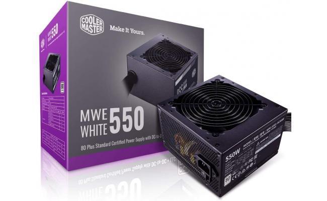 Cooler Master MWE 550 550w 80 PLUS MasterWatt Lite Power Supply