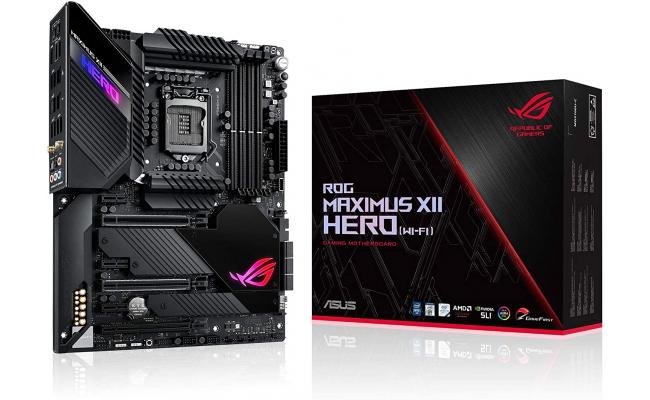 ASUS Z490 ROG MAXIMUS XII HERO (WI-FI) GAMING MOTHER BOARD