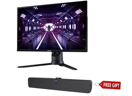 "Samsung 27"" G3 Odyssey 144Hz 1Ms Gaming Monitor + Lenovo L102 Wired Soundbar (Free Gift)"