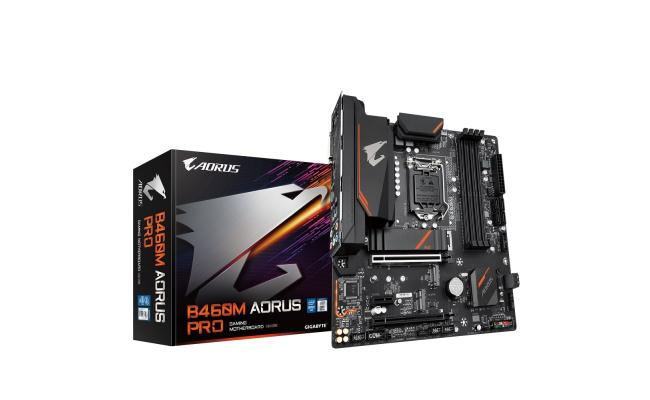 GIGABYTE B460m AORUS PRO with RGB Fusion Intel B460  Motherboard
