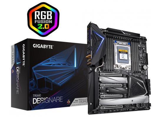 GIGABYTE TRX40 DESIGNARE, sTRX, 3rd Gen AMD Ryzen Threadripper Processors, 16+3 Phase VRM, Gen 4 AIC with 4 Extra M.2, XL-ATX Motherboard