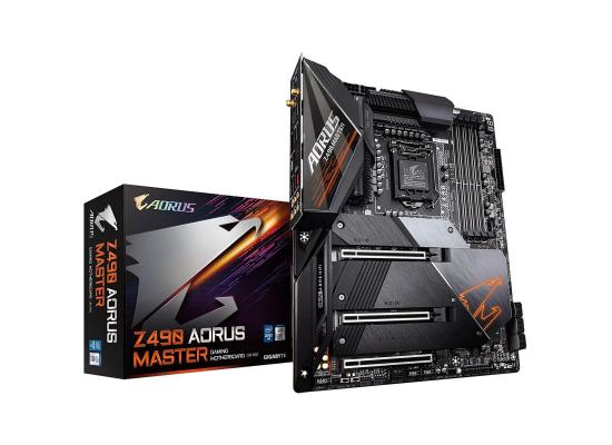 GIGABYTE Z490 AORUS Master Intel Z490 LGA 1200 with Direct 14 Phases , WIFI Motherboard