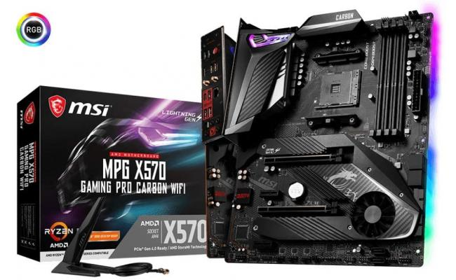 MSI AMD RYZEN MPG X570 GAMING PRO CARBON WIFI PCIE 4.0