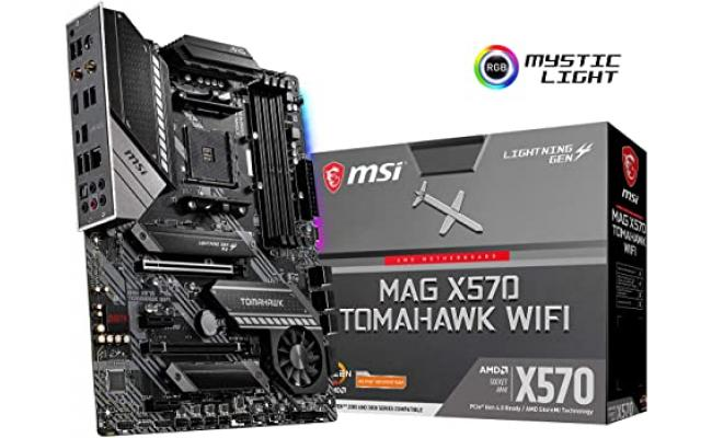 MSI AMD RYZEN MAG X570 TOMAHAWK WIFI BCIE 4.0