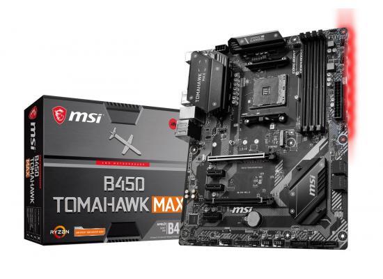 MSI AMD RYZEN B450 TOMAHAWK MAX M.2 PCIE 4.0 Motherboard