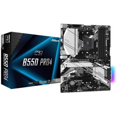 ASROCK AMD B550 Pro4 RGB M.2 ATX Motherboard