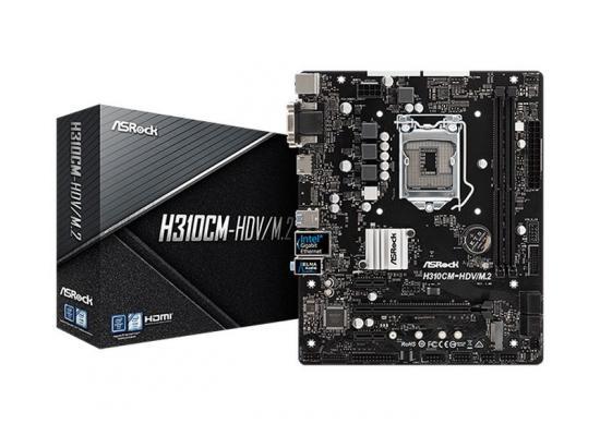 ASROCK H310CM-HDV/M.2 mATX Motherboard LGA1151