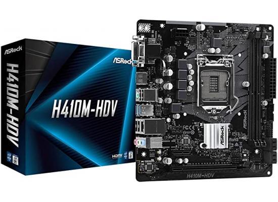ASROCK H410M-HDV M.2 mATX Motherboard LGA1200