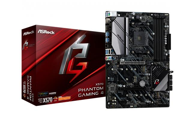 ASROCK X570 Phantom Gaming 4 ATX Motherboard