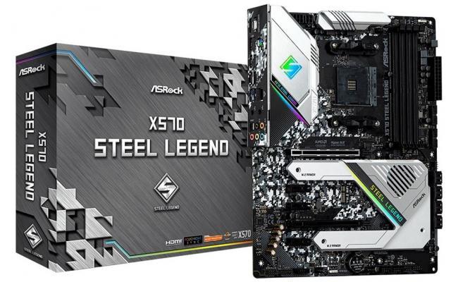 ASROCK X570 Steel Legend RGB 2 PCIe 4.0  ATX Motherboard