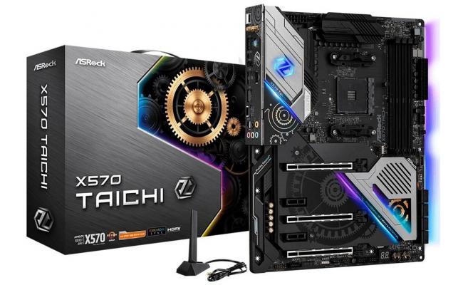 ASROCK X570 Taichi Wi-Fi 6 RGB Dual M.2 ATX Motherboard LGA1151