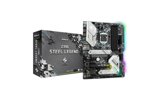 ASROCK Z390 Steel Legend ATX Motherboard LGA1151