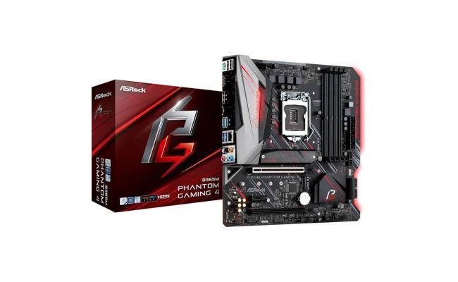 ASROCK B365M Phantom Gaming 4 /M.2 mATX Motherboard LGA1151