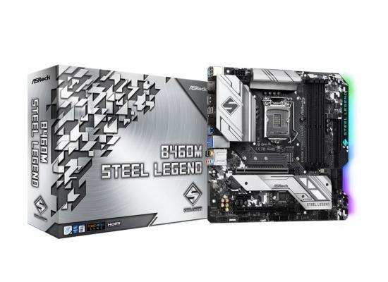 ASROCK B460M Steel Legend Ultra M.2 mATX Motherboard LGA1200