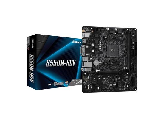 ASROCK AMD B550M-HDV /M.2 ATX Motherboard