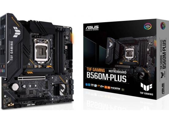 ASUS TUF Gaming B560M-PLUS LGA1200 (Intel11th/10th Gen) Micro ATX Gaming Motherboard (PCIe 4.0, 2X M.2 Slots,8+1 Power Stages, 2.5Gb LAN, USB 3.2 Type-C, Thunderbolt 4 Support (Non Wifi Ver)