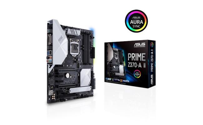 Asus PRIME Z370-A II - Motherboard - ATX - LGA1151 Socket