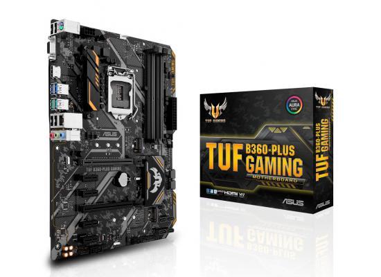 Asus TUF B360-PLUS GAMING - Motherboard - ATX - LGA1151 Socket