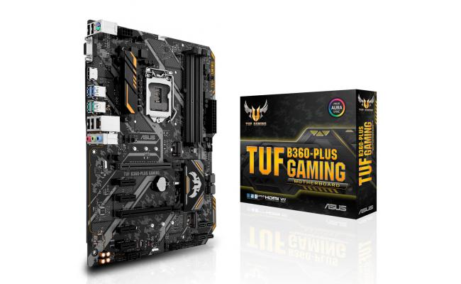 Asus TUF B360-PLUS GAMING - Motherboard - ATX - LGA1151 Socket