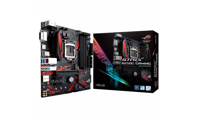 Asus ROG STRIX B250G GAMING - Motherboard - ATX - LGA1151 Socket