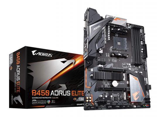 GIGABYTE B450 AORUS Elite M.2 RGB FUSION Motherboard