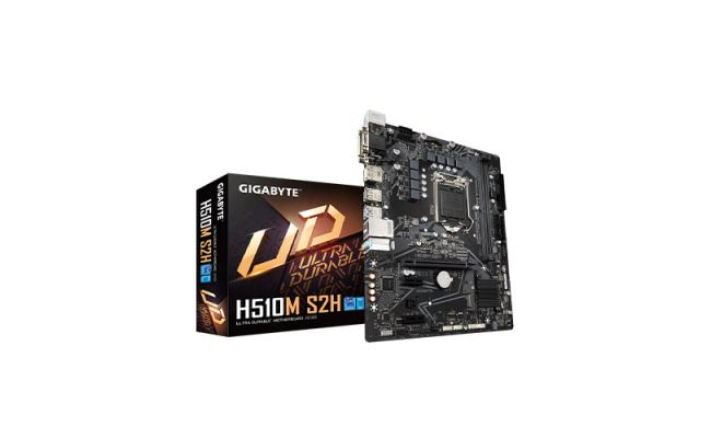 GIGABYTE H510M S2H Ultra Durable Micro ATX Motherboard with 6+2 Phases Digital VRM, PCIe 4.0* Design, Realtek 8118 Gaming LAN, 4 Display Interfaces Support