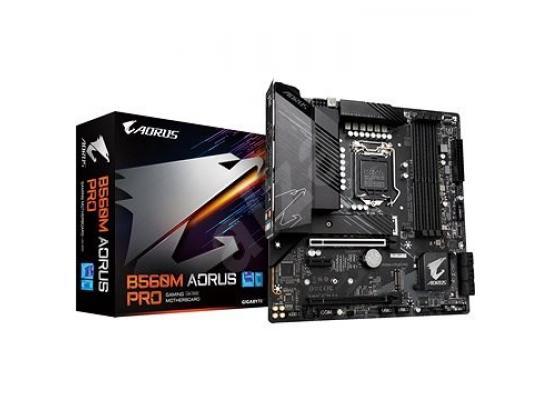 Gigabyte B560M AORUS PRO Intel B560 11th Generation Intel LGA1200 Micro-ATX Desktop Motherboard